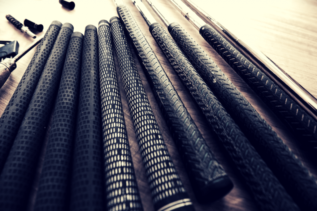 Golf Grips on Table