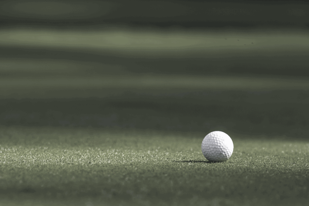 Low Compression Golf Ball on green