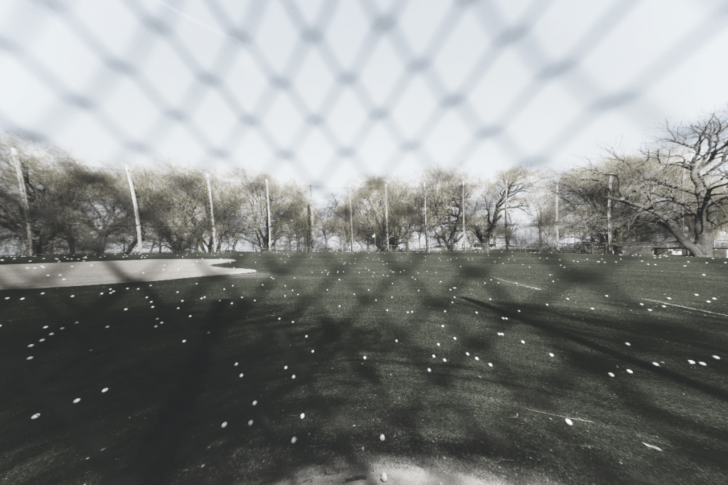 driving range golf net