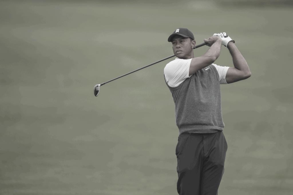 Tiger Woods Hitting 3 Wood