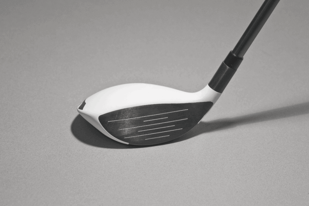 hybrid golf club black and white