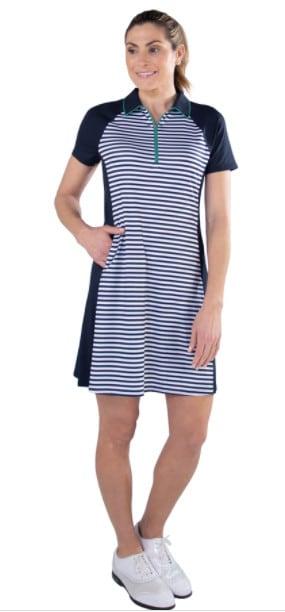 Jofit Stripe Swing Dress